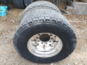 Super single tires and rims