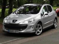 Peugeot 308 2.0HDi GT**RARE CARS**SAT NAV**PEUGEOT FSH**NEW MOT**135BHP**