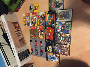 Super Nintendo, N64 and GameCube Games