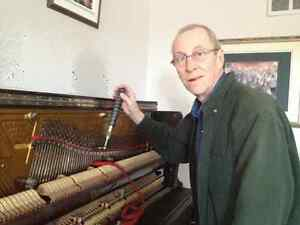 New Piano Strings Installed - Dwight Mallory