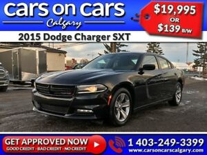 2015 Dodge Charger SXT w/Heated Seats, Remote Start, BlueTooth $