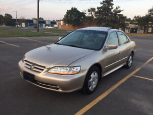 2001 Honda Accord V6 EX-L Sedan FULLY LOADED!!!