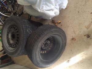 15 Inch Tires With Rims. P205/65R15. $50 per tire OBO
