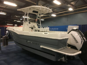 2017 Striper 220 Center Console w/ Evinrude C200 FX G2 200 HP