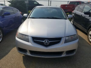 *LOW KM* 2004 Manual Silver Acura TSX
