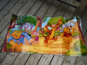 Winnie the Pooh car windshield sun shade cover.