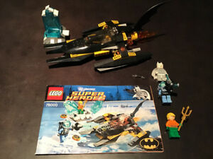 LEGO 76000 Arctic Batman vs.  Mr. Freeze 100% Complete