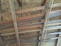 Free solid wood baseboards