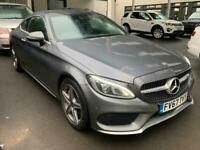 2018 Mercedes-Benz C-CLASS 2.0 C 300 AMG LINE PREMIUM PLUS 2d 241 BHP Coupe Petr