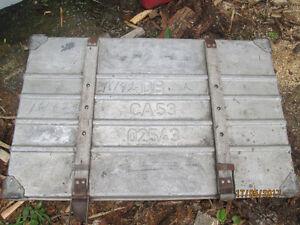Antique Aluminium Toolbox $50. OBO.