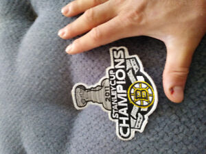 Boston Bruins 2011 stanley cup champions jersey crest