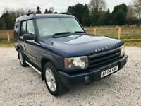 2004 04 LAND ROVER DISCOVERY 2.5 TD5 AUTO ES PREMIUM 7 LEATHER SEATS PX SWAPS for sale  Longford, West Midlands