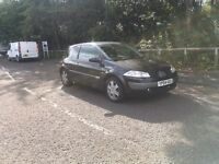 04 Reg Renault megane dynamique dci 120 May PX or swap