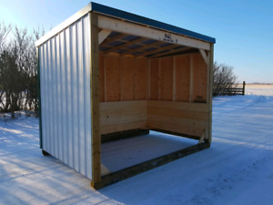 Horse and cattle shelters- 10% OFF FALL ORDERS!!
