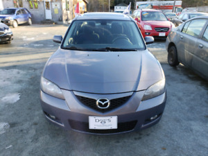 LOW MILAGE FRESH 2 YEARS MVI 2007 MAZDA3