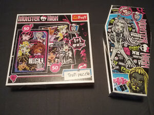 2 puzzles Monster High