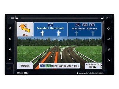 ESX VN620W Navigation DAB 2 DIN für Mercedes C Klasse CL203 Facelift mit Canbus