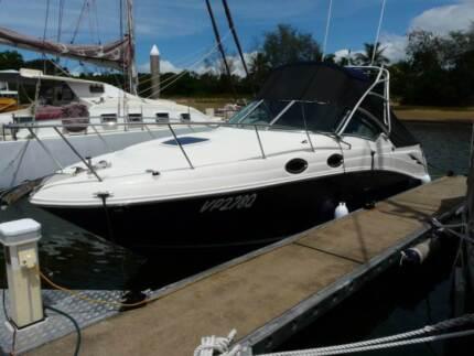 Sea Ray 275 Amberjack fishing/cruising combination