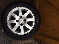 "Ford KA/Fiesta 14"" Alloy Wheels w/Tyres"