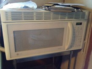 Dishwasher & GE Microwave over stove with exhaust fan