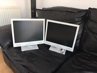 Flat screen computer monitors x2 - SOLD