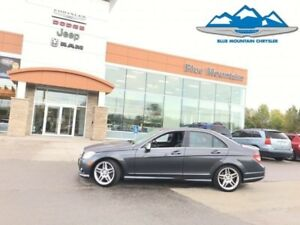 2010 Mercedes Benz C-Class C350 4MATIC  LEATHER HEATED, NAVIGATI