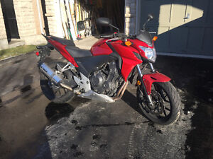 2015 Honda CB 500F