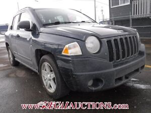 2008 JEEP COMPASS SPORT 4D UTILITY 4WD