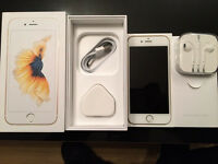 UNLOCKED iPhone 6S gold 64gb