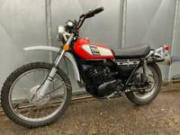 YAMAHA DT 250 TRAIL TRIAL RARE ENDURO LOW MILES! £4495 PX 175 400 WHY