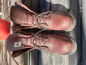 Red Wing work Boots Size 8