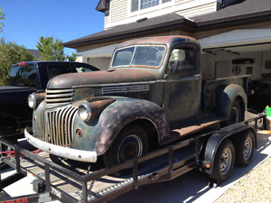 1941 - 1946 chevy / gmc truck parts