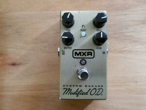 MXR Custom Badass Modified OD Pedal *Final Price*