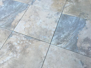 "Genuine Italian Porcelain Tiles 12""x12"" 400 sq.ft."