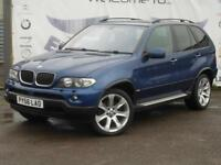 2006 BMW X5 3.0 D SPORT EDITION AUTOMATIC GREY LEATHER SEATS PRIVACY GLASS 20 IN