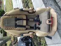 Jeep and Kombi stroller -pousette-Car seat -wood gate