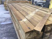 4x3 wooden posts
