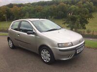 2002 (52) Fiat Punto 1.2 (Low Mileage)