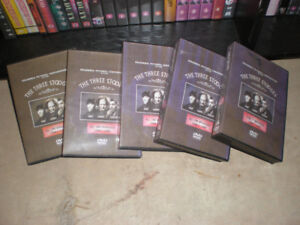 THE COMPLETE WORKS OF THE THREE STOOGES ON DVD... also OTHERS...