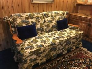 Sofa Bed and Matching Recliner