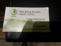 Well-Being Solution Heatlh Centre: Services Help Wanted