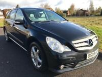 MERCEDES-BENZ R 320 3.0 CDI SPORT L 4 MATIC BLACK (2008) 7 SEATER