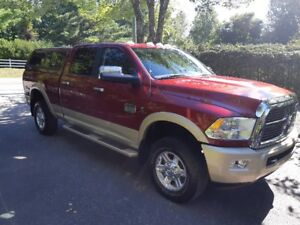 Ram 2500 turbo diesel Laramie long horn 2012