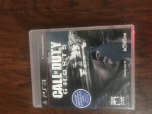 Call of duty ghosts(ps3)
