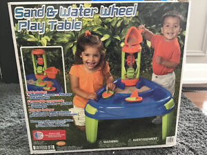 Kids outdoor Water and Sand Table