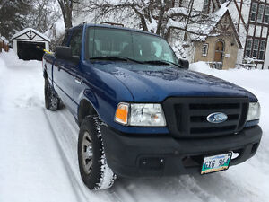 2007 Ford Ranger 4X4 SuperCab JUST SAFETIED,Remote Start, AC