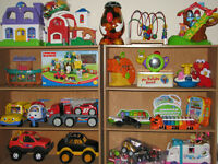 GENTLY USED CHILDREN'S TOYS .50 TO $15 EACH