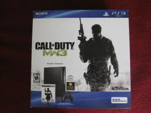 COD MW3 320GB PS3 Slim w/game bundle (Pristine/Mint condition)