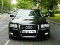 "2010 Audi A8 3.0TDI auto quattro Sport WITH FASH+TOP SPEC!+DAB+19"" WHEELS+"