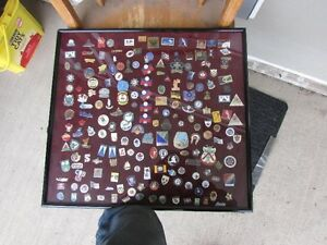 canadian pin collection